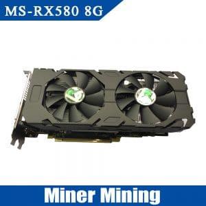 Видеокарта RX580 AMD Radeon 8gb 256bit 8000 мГц GDDR5