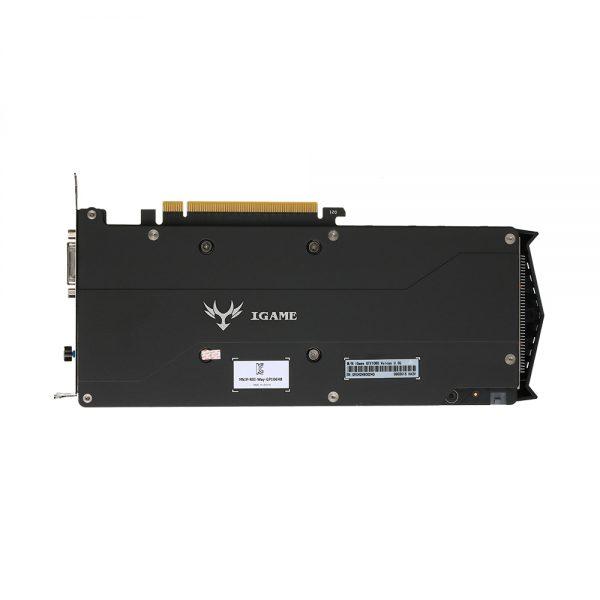 Красочные iGame GTX1060 U-3G видео Графика карты 1556-1771 мГц/8008 мГц 3G/192Bit GDDR5X pci-e 3.0 GTX 1060 3 * DP + HDMI + DVI 4