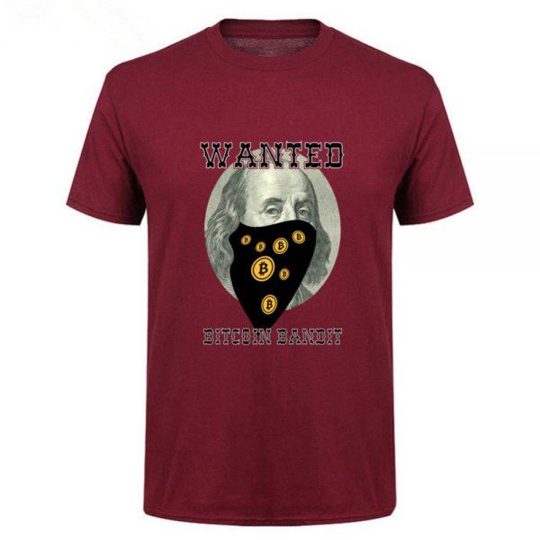 "Мужская футболка ""Bitcoin Bandit"" 100% хлопок 3"